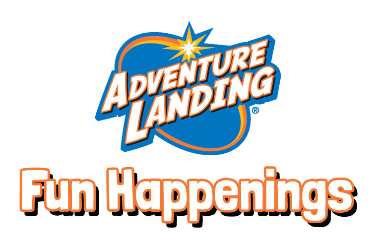 Fun Happenings | Adventure Landing Family Entertainment Center | Dallas, TX