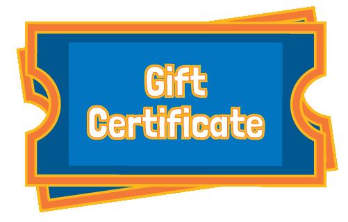 Gift Certificate | Adventure Landing Family Entertainment Center | Dallas, TX