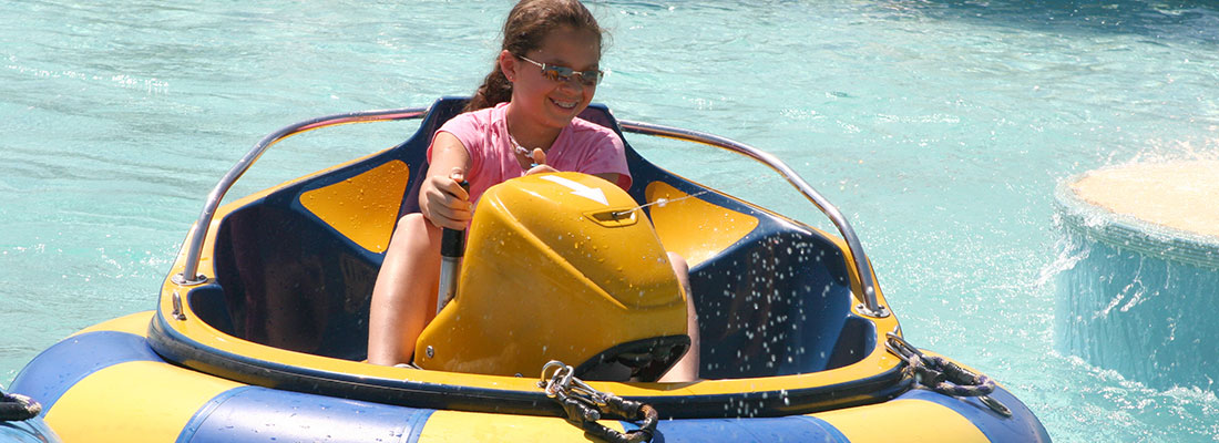 Bumper Boats | Adventure Landing Family Entertainment Center | Dallas, TX