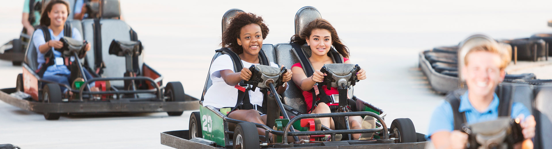 Go Karts | Adventure Landing Family Entertainment Center | Dallas, TX