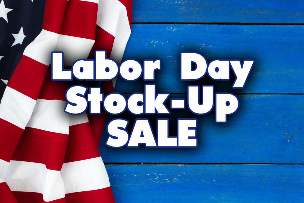 Labor Day Stock Up Sale Dallas