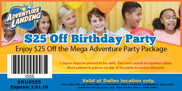 Download 25 Off Mega Birthday Coupon Now