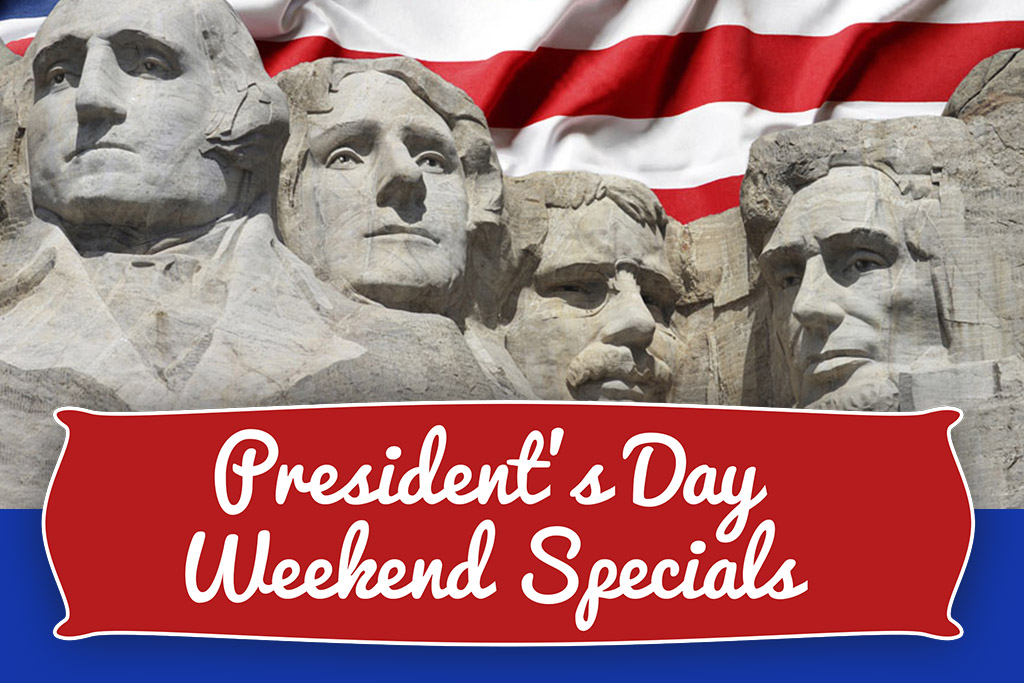 President S Day Weekend Specials Dallas